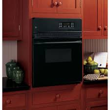 black appliance matte seamless kitchen: single electric wall oven self cleaning in black jrpbjbb the home depot