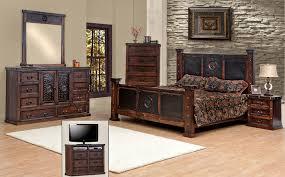 rustic bedroom furniture sets. Plain Furniture Rustic Bedroom Furniture And Master Pc Queen Set  Bed Dresser Mirror Sets D