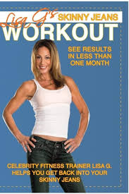 celebrity trainer lisa g hired me to concept a new workout i led it skinny jeans workout wrote all wraparound copy for host trainer and created a