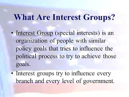 What Are Interests Interest Groups Chapter 11a Oconnor And Sabato American Government