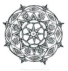 Mandala Coloring Pages For Kids Free Mandala Coloring Pages For Kids