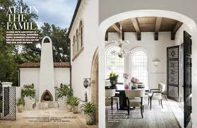 National Magazine Can't Get Enough Of This Mediterranean Highland Inspiration Dallas Home Design