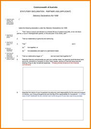 7 Statutory Declaration Sample Letter Cv For Teaching