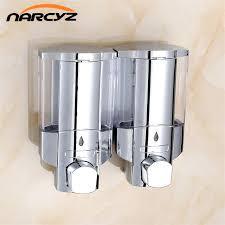 wall mount soap kitchen bathroom shower shampoo dispenser home wall shampoo dispenser