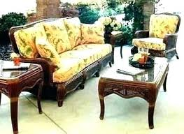 clara wicker outdoor cushions wicker lounge chair cushion set with fabric designer free today