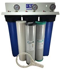 House Water Filters Systems Whole House Water Filter System 20 X 45 Triple Chloramine Removal