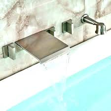 roman bathtub faucets roman style bathtub faucet waterfall brushed nickel wall mount faucets moen roman bathtub