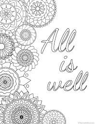 Love inspirational word coloring pages? 23 Splendi Inspirational Quotes Coloring Pages For Adults Thespacebetweenfeaturefilm