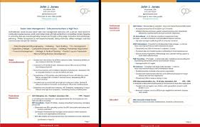 2 Page Resume Sample | Resume Work Template