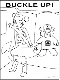 Health And Safety Color Page Education School Coloring Pages Color