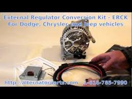 vote no on external voltage regulator kit for dodge dodge chrysler jeep charging problem fix external regulator kit