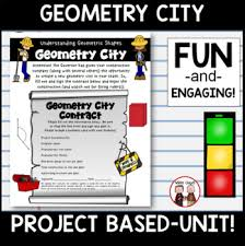 Gray And Wise Project Math Geometry City Project By Wise Guys Teachers Pay Teachers