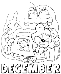December Coloring Pages Color N Relax Coloring Pages Coloring