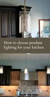 choosing lighting. How-to-choose-pendant-lighting-for-your-kitchen- Choosing Lighting