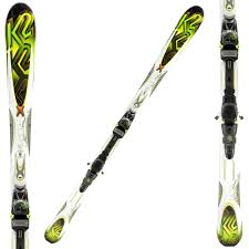 K2 Ski Size Chart 2011 K2 Rictor Ski System With Bindings Peter Glenn
