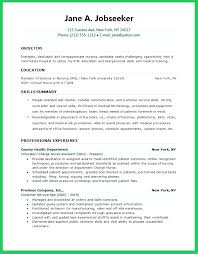 New Grad Nursing Resume Template Extraordinary New Graduate Registered Nurse Resume Objective Krida