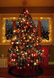 Old Fashioned Christmas Tree Ideas 8194Old Style Christmas Tree Lights