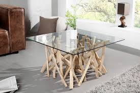 Table Basse Design Carr E Bois Flott Adora 80 Cm