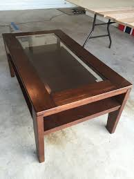 Diy rustic coffee table Square Coffeetablebefore Studio Gaspo Diy Rustic Coffee Table Makeover