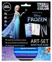 """""""Арт-Сет (фломастеры и силуэт-альбом) """"Frozen"""" (65066)"""""""