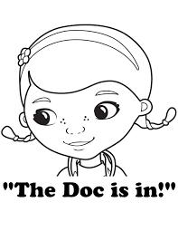 Doc Mcstuffins Coloring Page 2199449