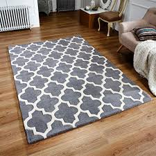 arabesque grey rug