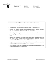 Fax Letter Head Extension Letterhead Template Word Format Pdf Format E