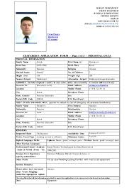 Ideas of Seafarer Resume Sample For Your Proposal