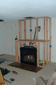 how to add a gas fireplace to an existing home amazing fireplace and built ins installing