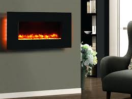 ... Large Image for Wall Hung Electric Fireplace Heater Small Mount Heaters  Reviews Remote Control ...