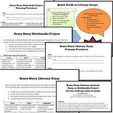 halloween scary story literary analysis by msdickson tpt halloween scary story literary analysis