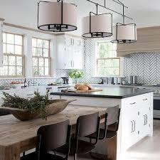next dining furniture. White Herringbone Kitchen Tiles With Black Grout Next Dining Furniture