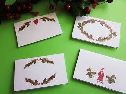 christmas placecard templates table place settings template