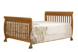 All In One Crib Amazoncom Davinci Twin Full Size Bed Conversion Kit Chestnut