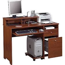 staples computer furniture. bestar legend computer desk tuscany brown staples furniture