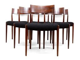 mid century dining chair. Set Of Six Mid Century Dining Chairs In Rosewood Chair 9