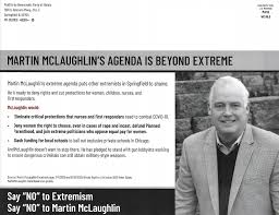 """Democrat Vastly Outmailing Republican in David McSweeney's District,  Labeling Republican Marty McLaughlin as """"Extreme"""" - McHenry County Blog"""