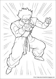 Check them all out below in these. Dragonball Z Coloring Pages Free For Kids