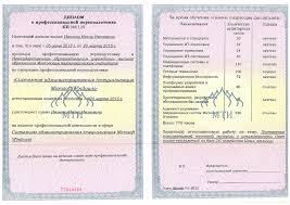 Документы об образовании и или квалификации Документы об  диплом о профессиональной переподготовке