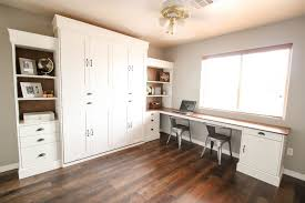 a murphy bed is a great way to turn any room into a guest room with the pull of a handle this diy murphy bed project is easy to follow with the