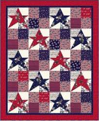 Americana Quilt | Quilts | Pinterest | Patriotic quilts, Blue ... & Quilt Inspiration: Free pattern Adamdwight.com