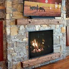 customize your fullview 46 gas fireplace with a nature inspired authentic reclaimed wood look magrahearth mantel and surround that complement any décor