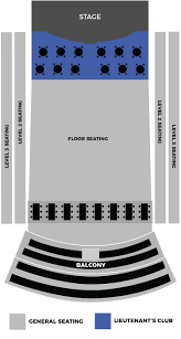 62 Complete Pirates Voyage Seating Chart