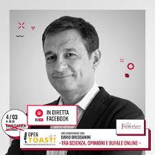Filosofarti 2020, Dario Bressanini in diretta Facebook