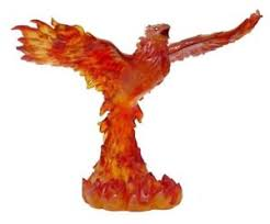 Small Picture WIZARD SUMMONED GOLDEN PHOENIX STATUE TOM WOOD FIGURINE HOME DECOR