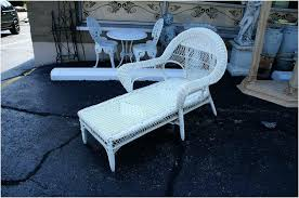 white wicker lounge chair awesome white wicker chaise lounge chair small outdoor chaise lounge small