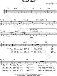 Preview senorita by shawn mendes and camila cabello beginner piano with note names in easy to read format is available in 2 pages and compose for beginning difficulty. Billy Joel Piano Man Sheet Music Leadsheet In C Major Transposable Download Print Sku Mn0114011