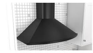 chimney ducted kitchen insert glacier wall ductless powerful mount steel vesta range cfm black stainless inch