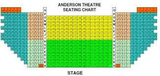 Civic Theater Seating Chart Anderson Theatre