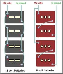 battery bank wiring diagrams volt volt series and 1batterywiringdiagram
